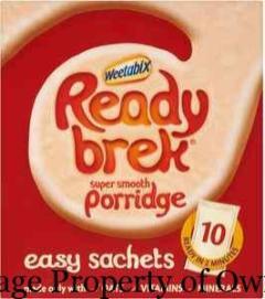 Ready Brek Porridge property liquidated_stocklots