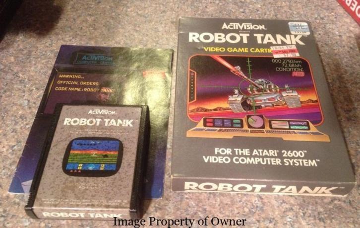 ATARI Robot Tank property mikethemiz