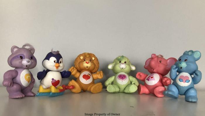 CB Kenner Care Bear Cousins set