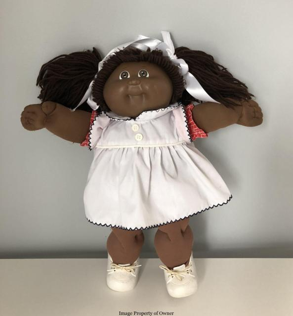 CPK Coleco girl with 25th anniversary clothes