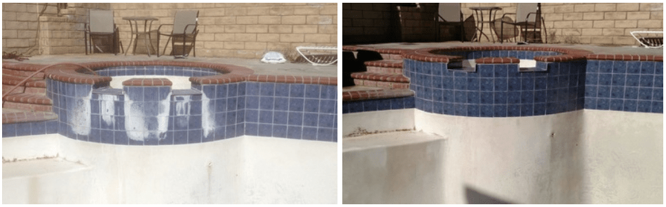 tile cleaning paradise pool spa