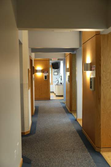 Point Place Dental Hallway