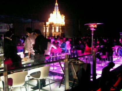 Party night at Skyye in UB City, Bangalore.
