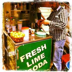Sweet and salty lime soda!