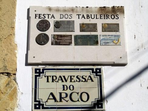 Award-winning street, Tomar, Portugal. Photography by Julie Dawn Fox