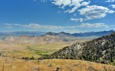 One of many scenic viewpoints on Highway 89 in Mono County, California