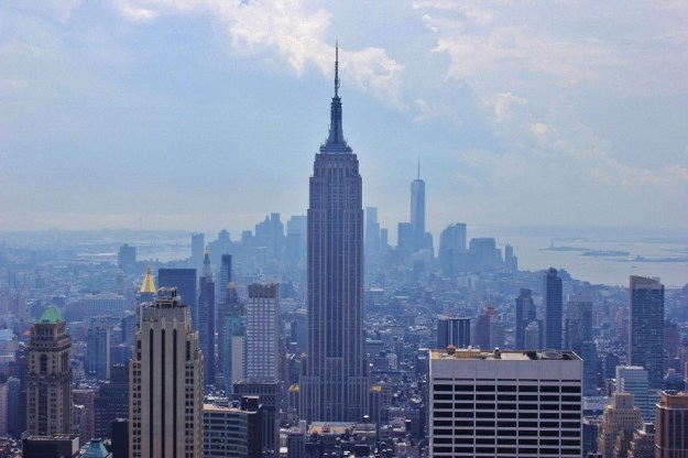Empire State Building and skyline view from Top of the Rock New York City NYC JetSettingFools.com
