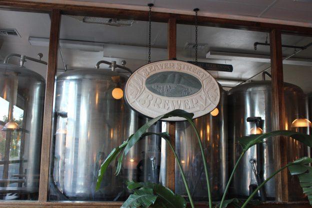 Beer tanks at Beaver Street Brewery in Flagstaff, Arizona