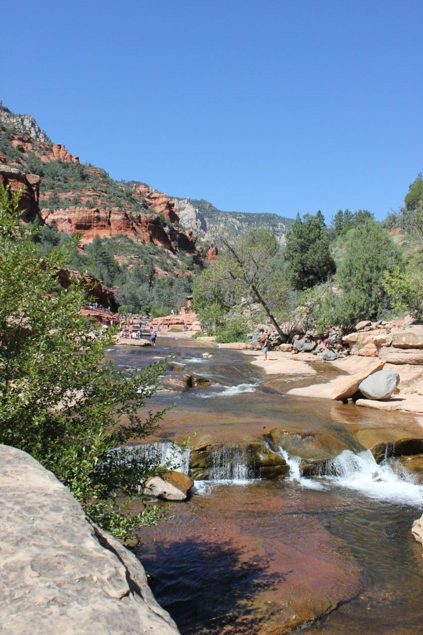 Slide Rock State Park near Flagstaff, Arizona