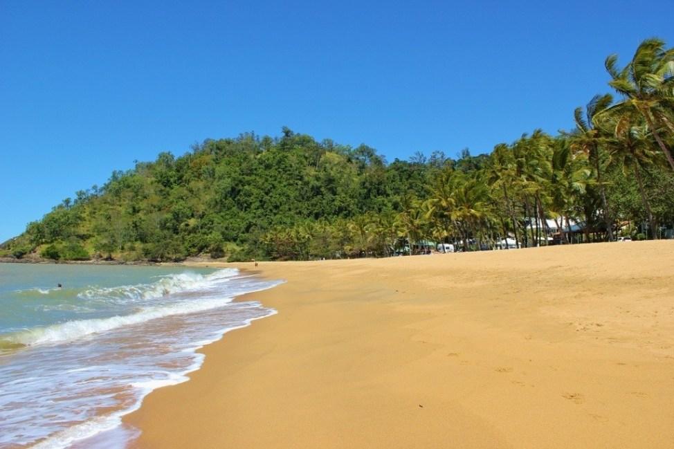 Sandy Trinity Beach, one of Cairns Northern Beaches, near Cairns, Australia