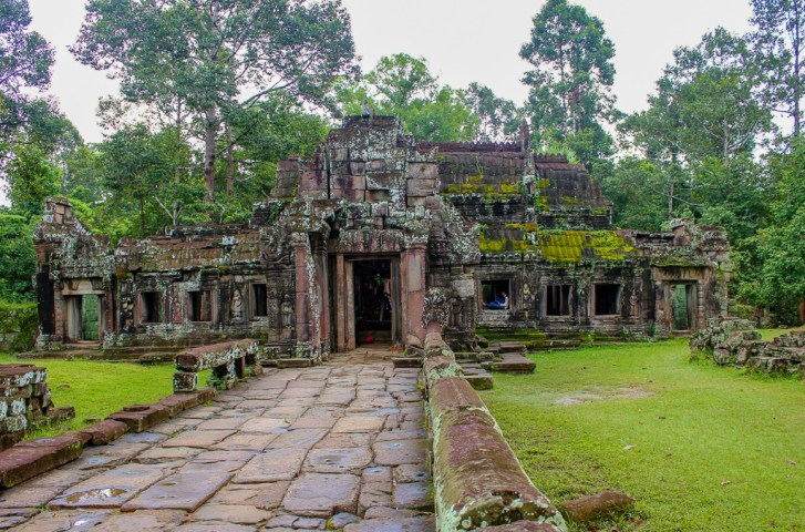 Entrance to Banteay Kdei temple at Angkor Park in Siem Reap, Cambodia
