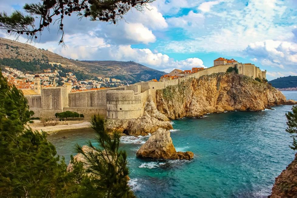 Dubrovnik, Croatia viewpoints