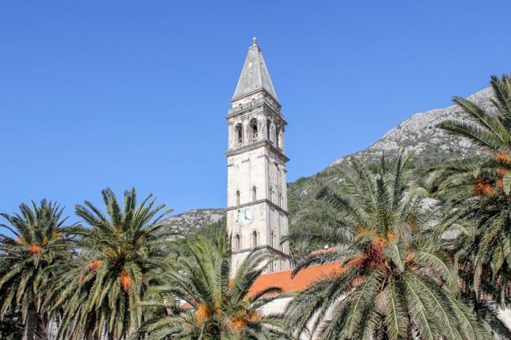 Church Bell Tower, Perast, Montenegro