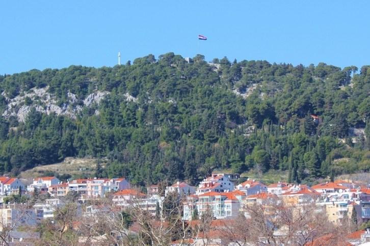 Marjan Hill from the Split Marina