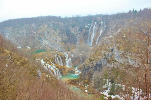Plitvice Lakes winter visit in Croatia