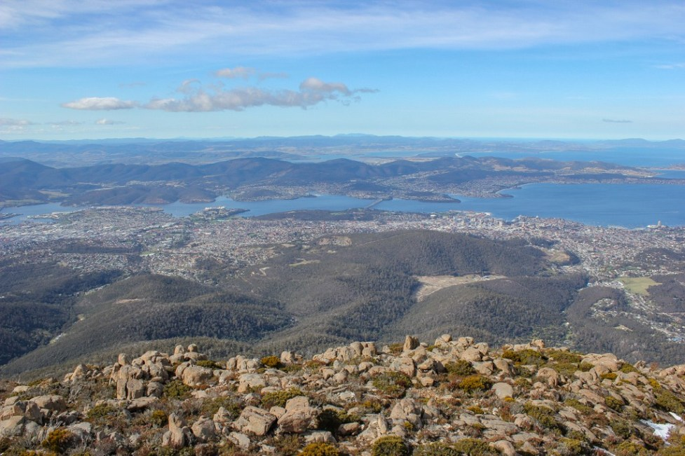 View from Summit of Mount Wellington