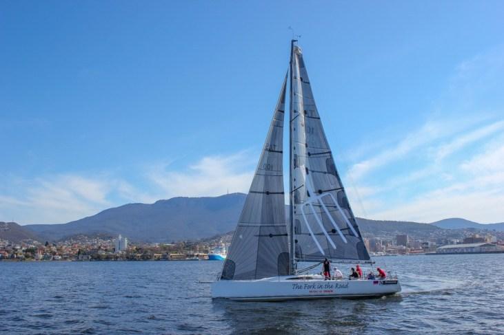 Sailboat in Tasmania