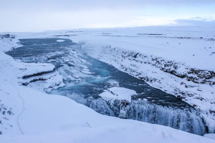 Amazing Gullfoss Waterfall, Iceland