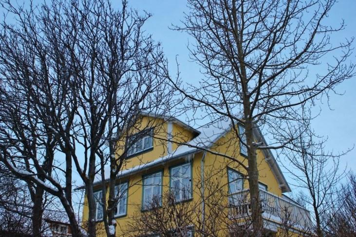Iceland in Wintertime Colorful House in Rocky Village Reykjavik JetSettingFools