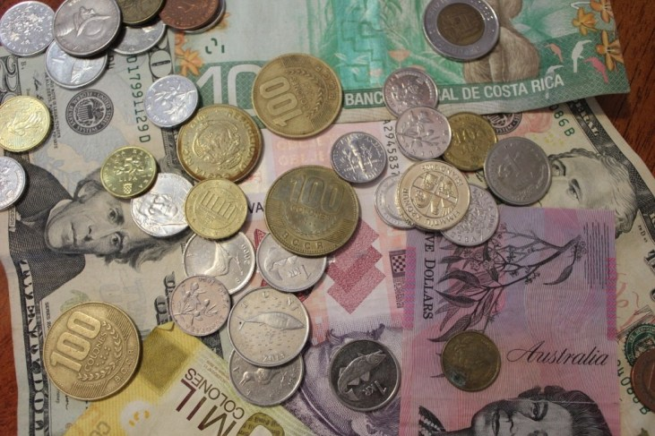 Two-Year Travel Budget Money International currencies JetSettingFools.com