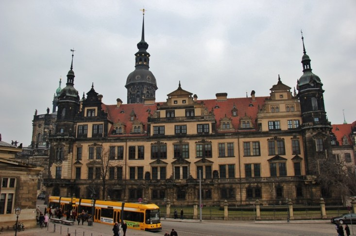 Dresden Castle Residenzschloss in Dresden, Germany