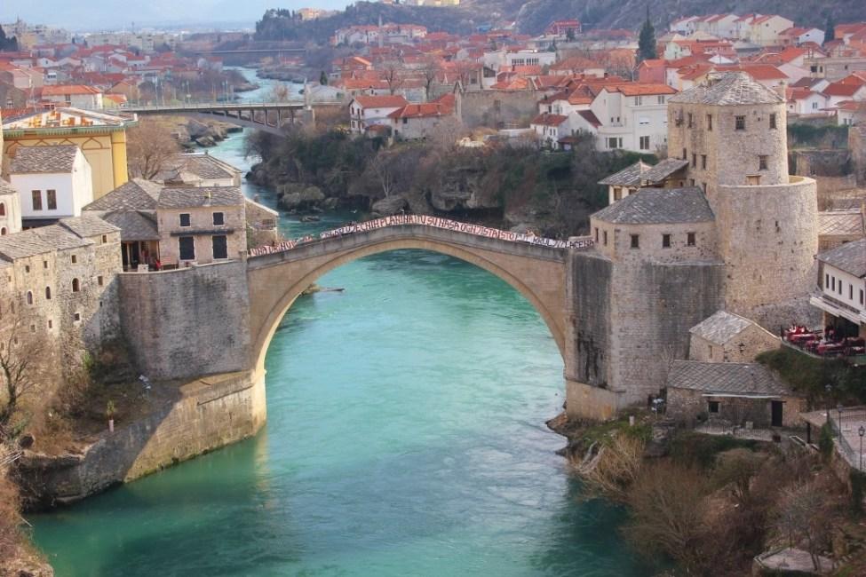 Old Bridge in Mostar, Bosnia-Herzegovina