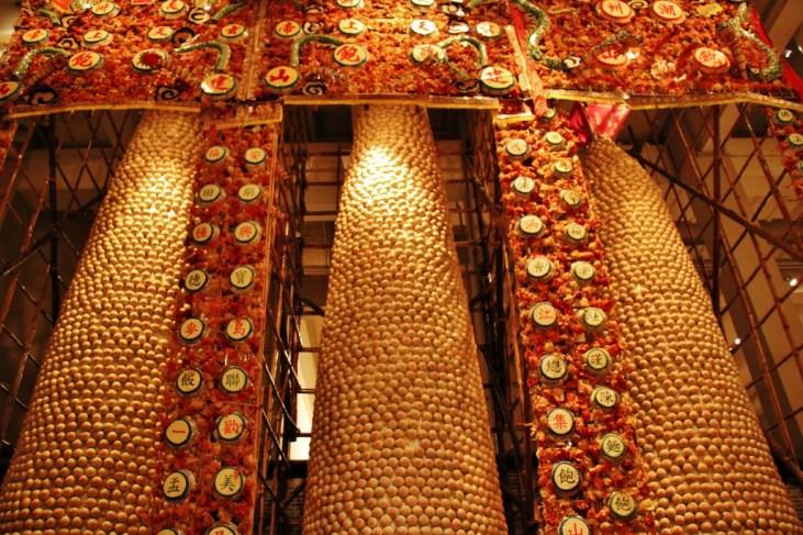 Cultural bun display at Hong Kong Museum of History