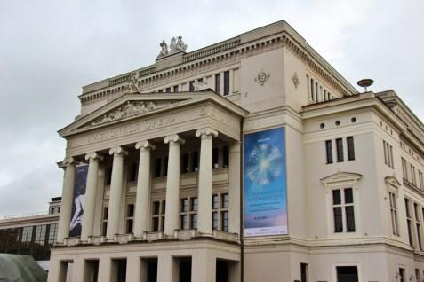 Latvian National Opera House, Riga, Latvia