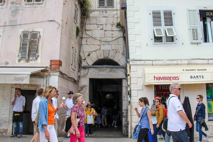 Bronze Gate to Diocletian's Palace, Split, Croatia
