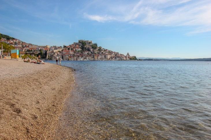 View from Sibenik Beach