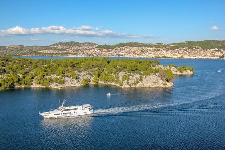 Jadrolinija Passenger Ferry From Sibenik, Croatia