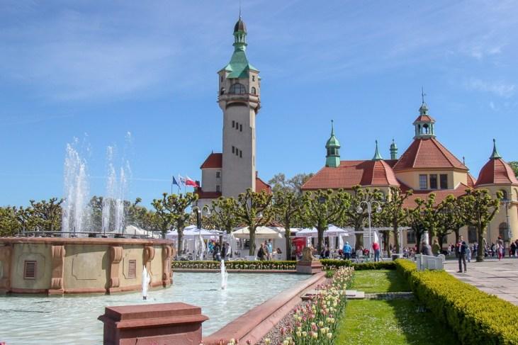 Main Square in Sopot, Poland