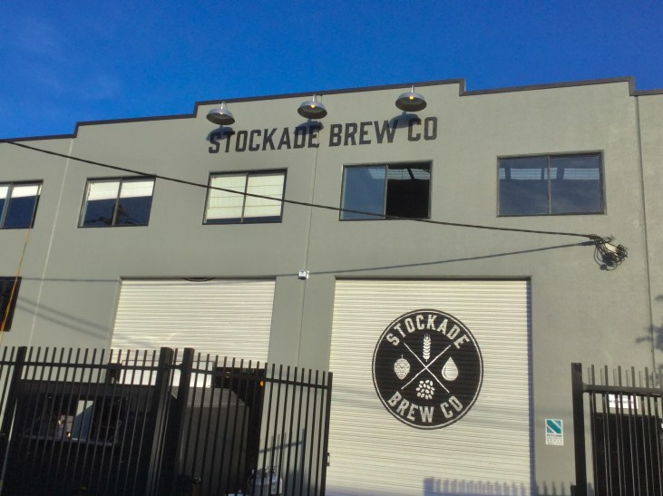 The Stockade Brew Co building in Marrickville, Sydney, Australia