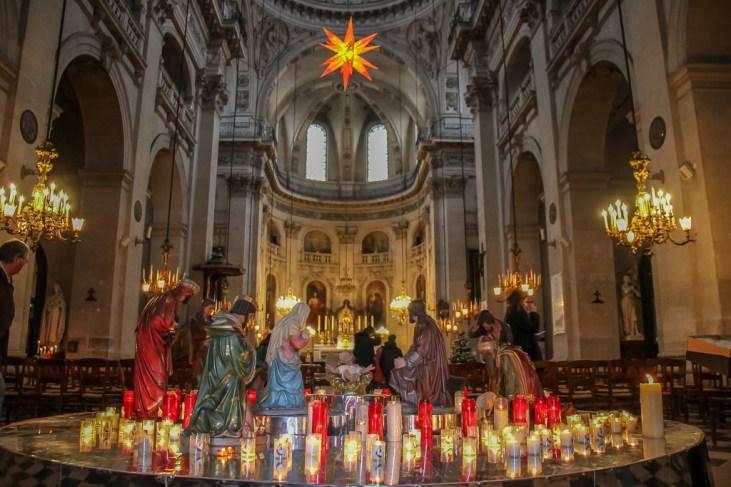 Saint-Paul-Saint-Louis Church in Le Marais District in Paris, France