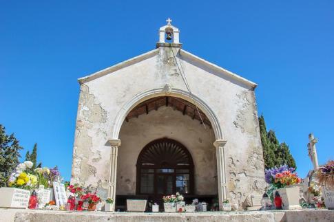 Chapel at City Cemetery in Hvar, Croatia