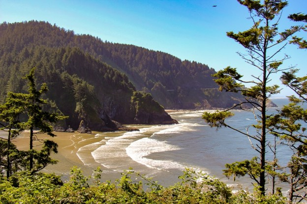 Heceta Head Lighthouse Hike Viewpoint in Florence, Oregon