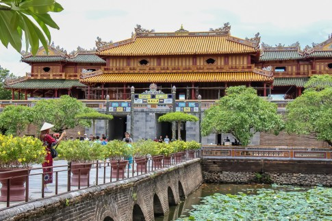 Ancient Imperial City, Hue, VIetnam