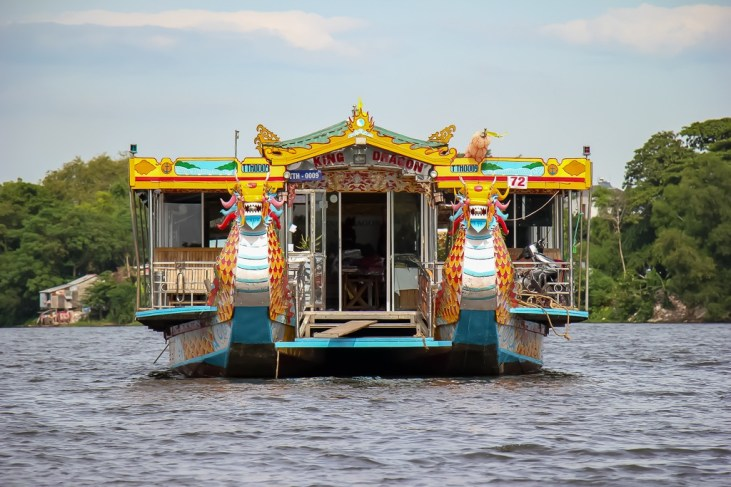 Tour Boat on the Perfume River, Hue, Vietnam