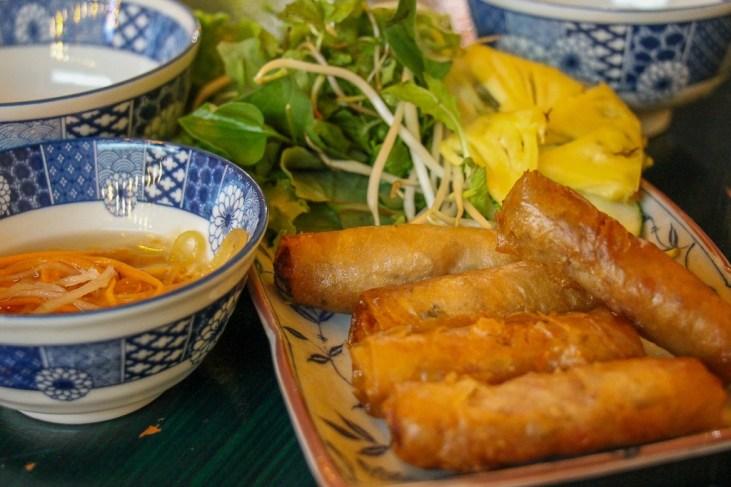 Fried Spring Rolls, Da Nang, Vietnam