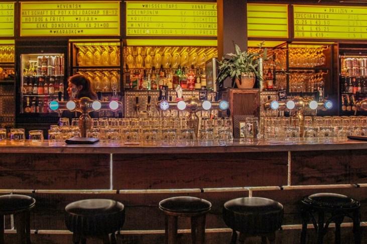 Tap Handles, Bar at De Eeuwige Jeugd Tap Room Amsterdam