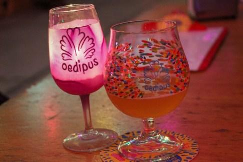 Candles, Beer at Oedipus Brewing