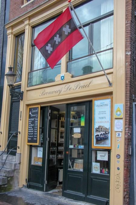 Amsterdam Flag at De Prael Brouwerij Amsterdam