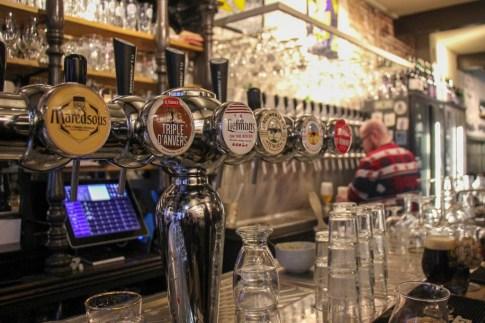 So many good beers at Foeders Craft Beer Bar, Amsterdam