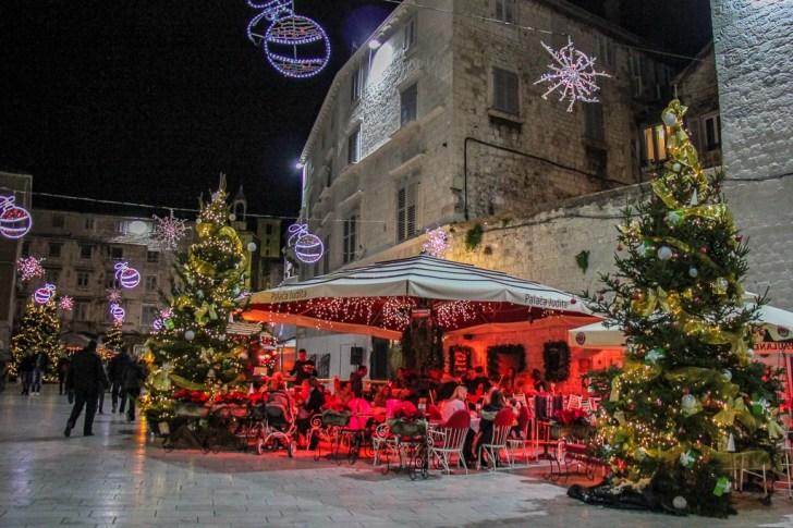 Peoples Square, Split, Croatia