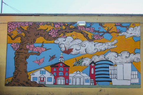 Colorful Street Art, Vancouver, WA
