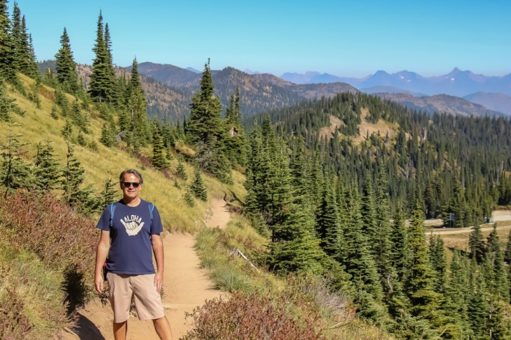 Hiking the Danny On Trail, Whitefish, Montana