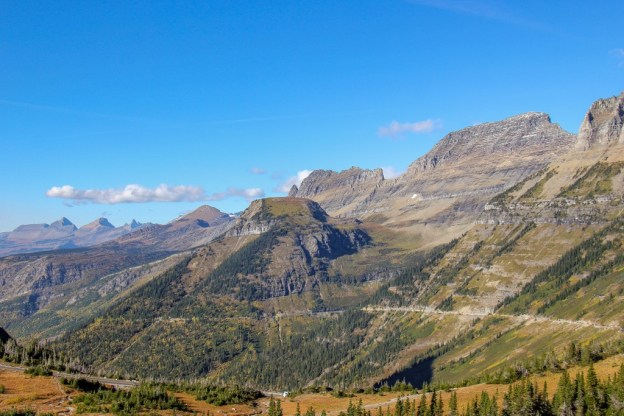The best views from Logan Pass, Montana Road Trip