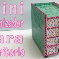 Mini Organizador para Escritorio