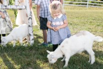 Goats are available to greet your guests