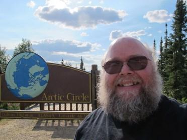 The arctic circle, yeah.